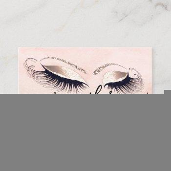 professional logo makeup artist fashion glitter business card