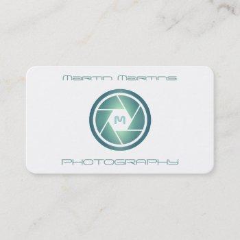 professional modern futuristic lens cover business card