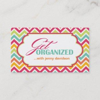professional organizer business cards