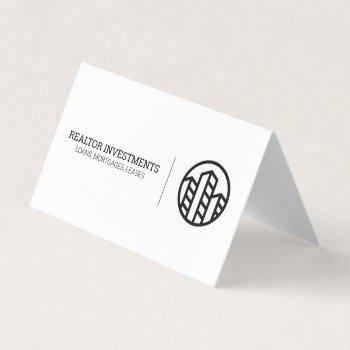 professional | realtor investor business card