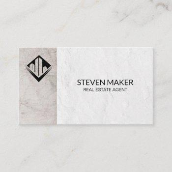 property management | realtor agent | classic business card