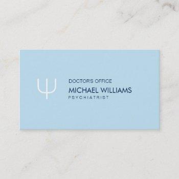 psychologist - elegant celestial symbol business card