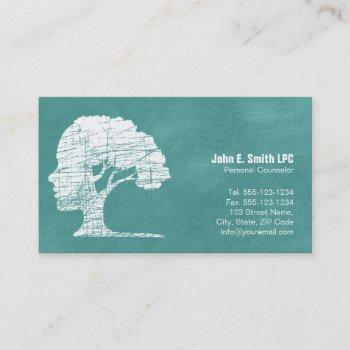 psychologist personal counselor business cards