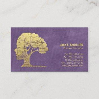 purple psychologist personal counselor appointment