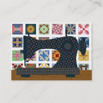 quilter / seamstress card - srf