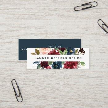 radiant bloom business cards | mini