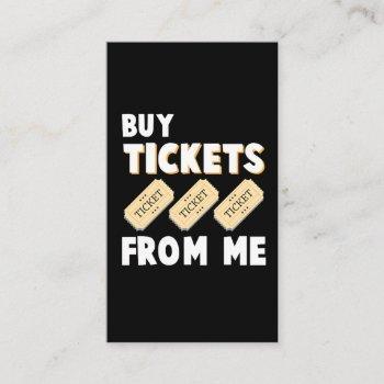 raffle tickets salesman tombula gambling employee