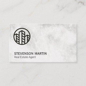 real estate agent | buildings business card