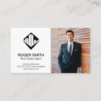 real estate agent | classic business card