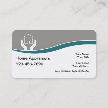 real estate appraiser business cards