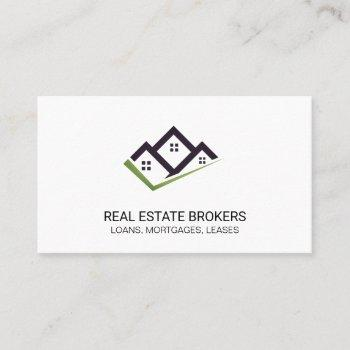 real estate brokers | property business card