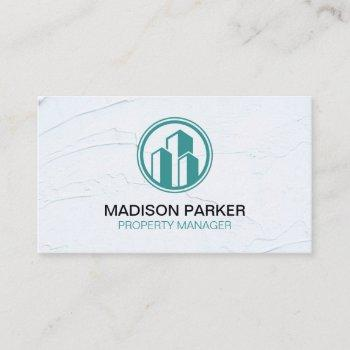 real estate | commercial private properties business card