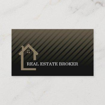 real estate investor | home icon business card