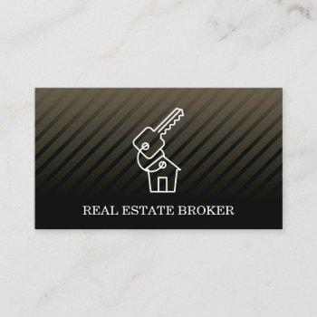real estate investor | keys to the home business card
