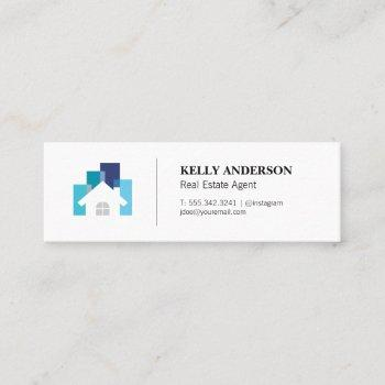 real estate | property management | home icon mini business card