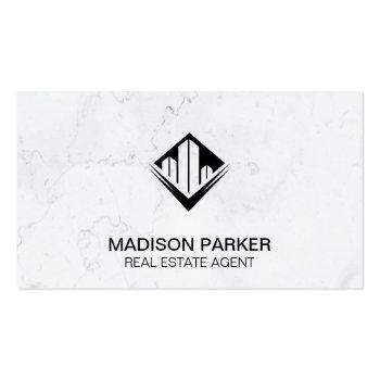 Small Realtor | Commercial Private Properties | Classic Business Card Front View