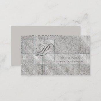 rectangular glass on concrete id326 business card