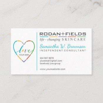 regimen rodan and fields business card