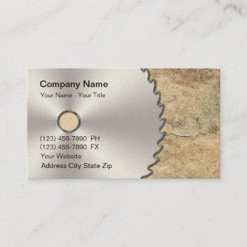 remodeling circular saw business card