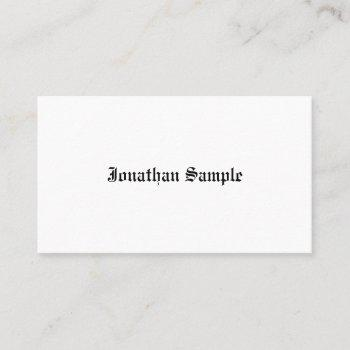 retro look template vintage old text nostalgic business card