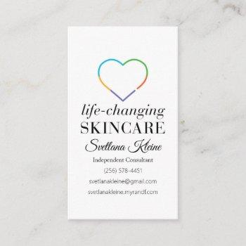 rodan and fields pc perks program business card