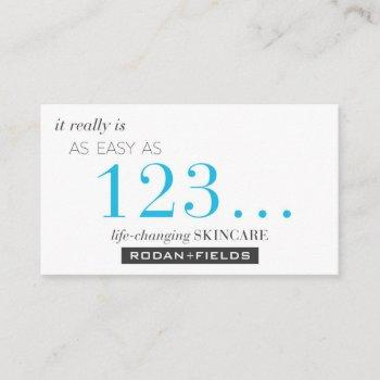 rodan and fields sample cards