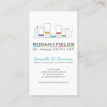 rodan and fields trend business card
