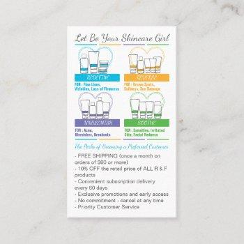 rodan fields pc perks preferred customers business card