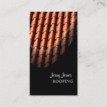 roofing, spanish tiles/diy business card