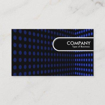 rounded edge tag - tone corner - blue ii