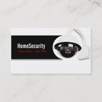 security company business card