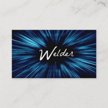 shining star welder business card