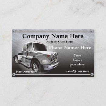 simi truck business card