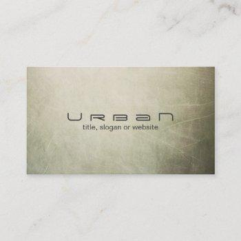 simple and modern abstract artist business card