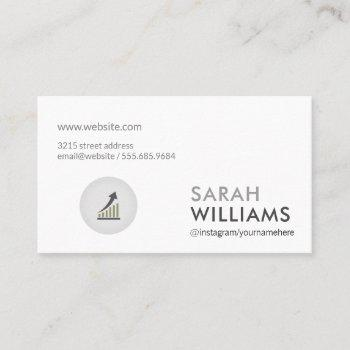 simple professional | marketing corporate business card