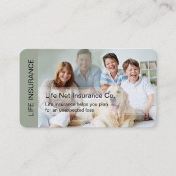 smart life insurance business card