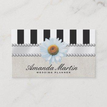 special events | classic stripes business card