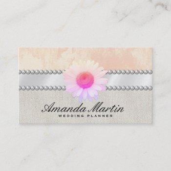 special events | elegant flower business card