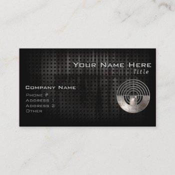 sport shooting; cool business card