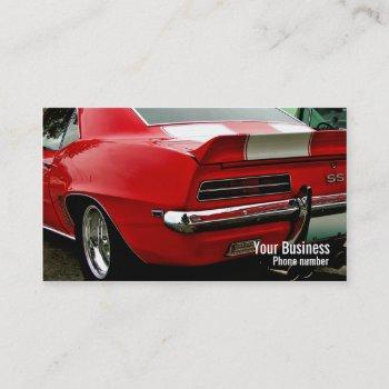 ss muscle business card