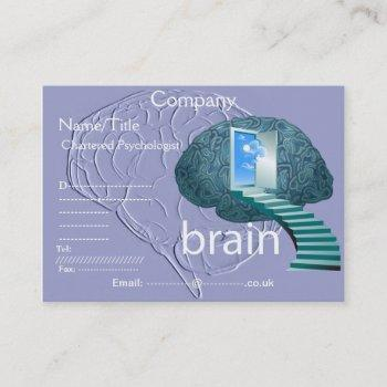 staircase to the brain business card