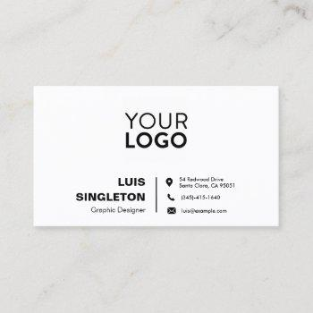 standard semi-gloss business card