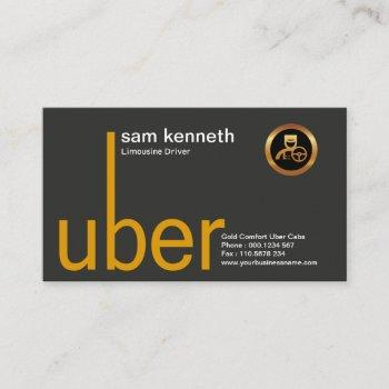 stylish creative taxi signage driver business card