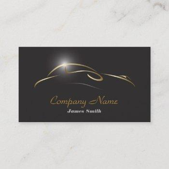 stylized auto detail  auto paint  eu business card