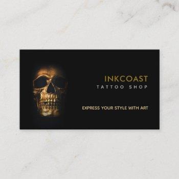 tattoo shop slogans business cards