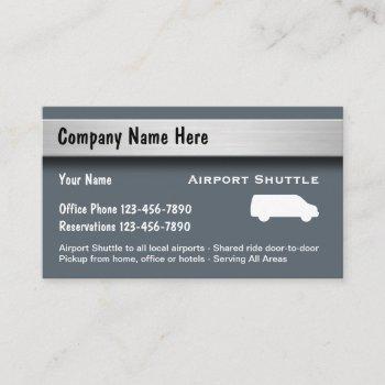 taxi public transportation business card