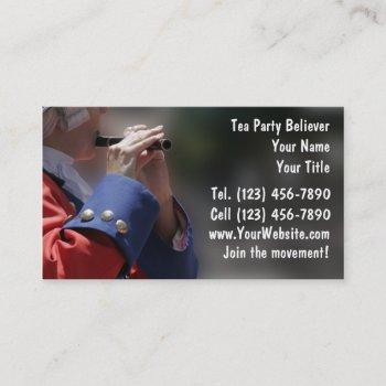 tea party business cards