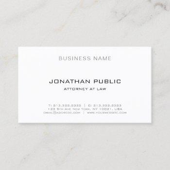template law office attorney lawyer professional business card