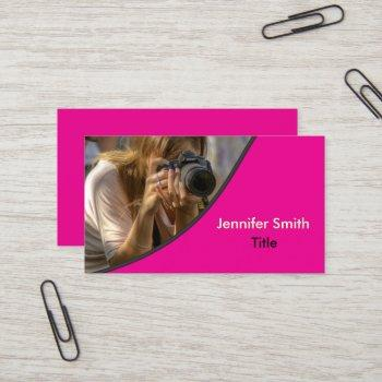 template | photography - photo business card