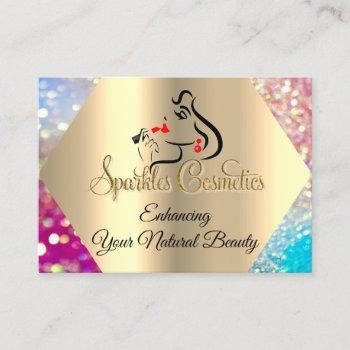 thank you for your purchase holograph logo business card